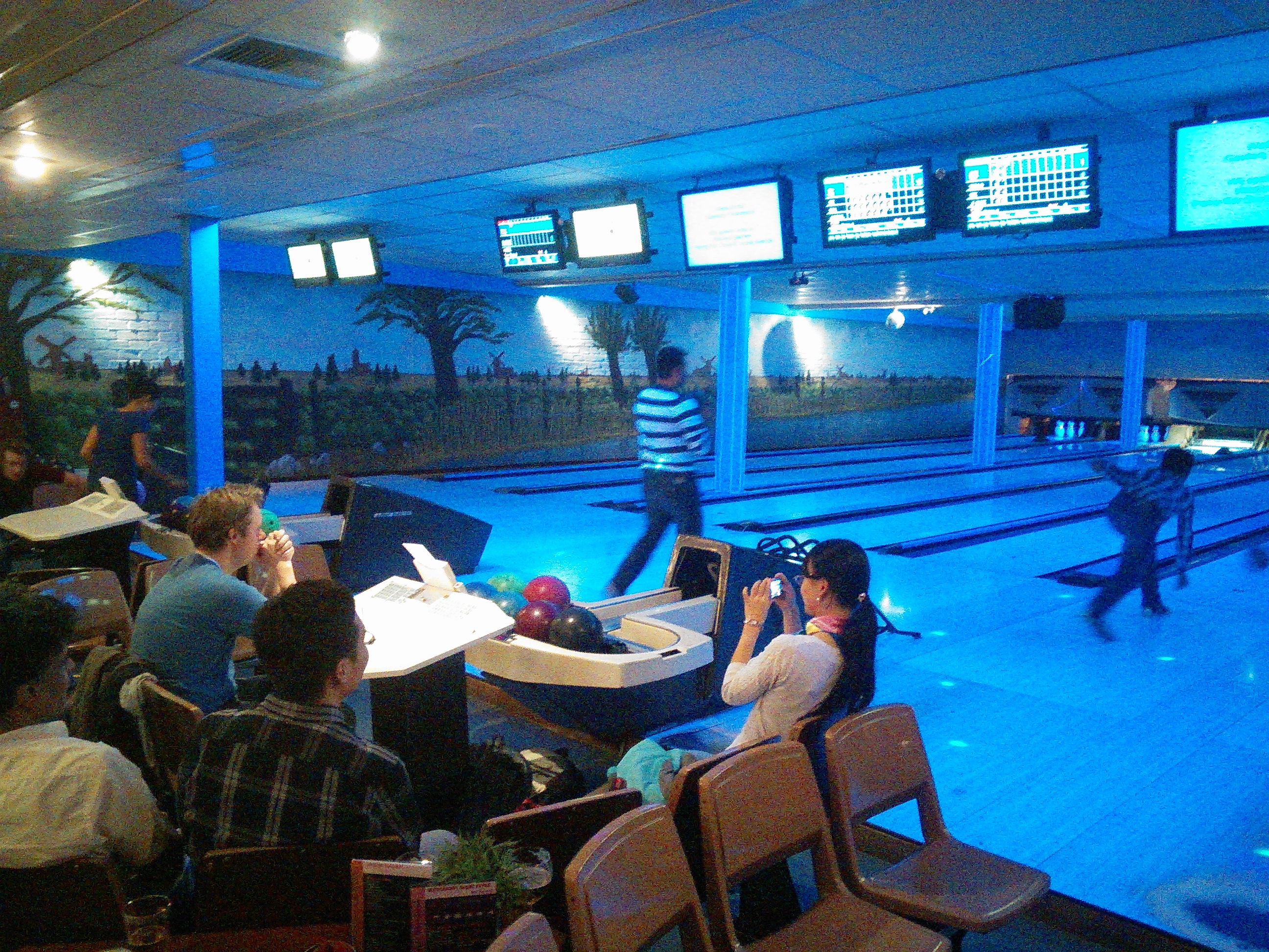 SIAM Student Chapter bowling night